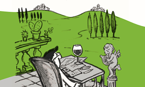 'Villa Später' erscheint im Verlag Blogwerk
