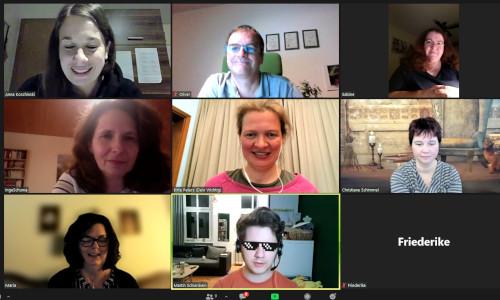 Zoom Konferenz zur Blognacht